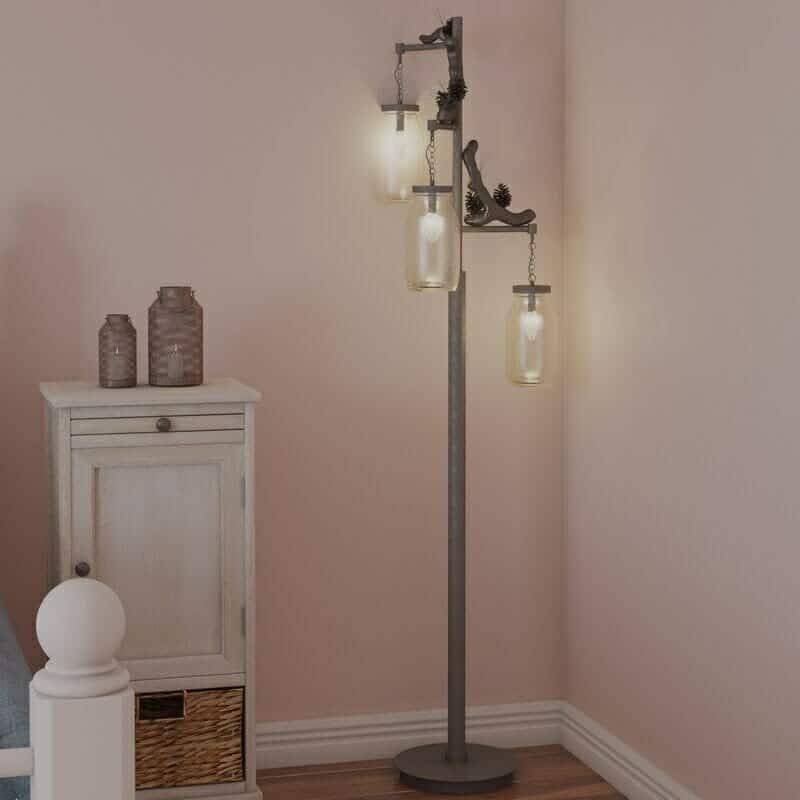 August Grove Crestview 65.5' Tree Floor Lamp