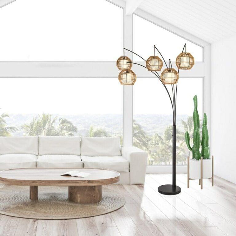 33 Tree Floor Lamps That Make Your Room Look Cozy