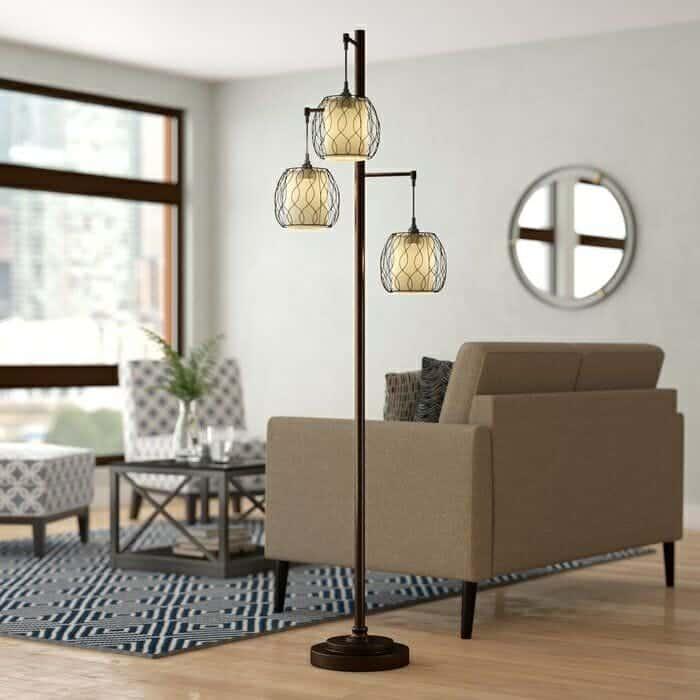 Dunkle 72 Tree Floor Lamp