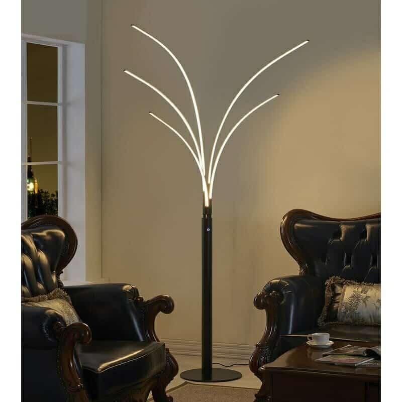 Orren Ellis Brinkman 94 Led Tree Floor Lamp